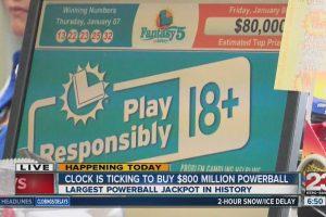 Powerball Jackpot $900 MIillion