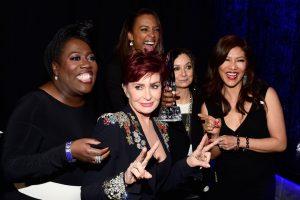 Sharon Osbourne physically kicks intruder off stage at People's Choice Awards