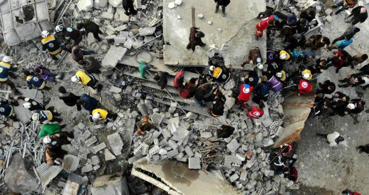 Syrian airstrike hits prison of Al-Qaeda affiliate, kills dozens